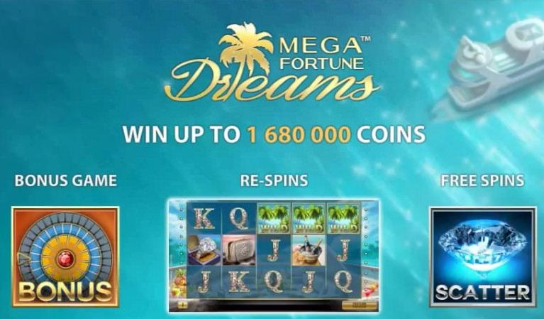 net entertainment mega fortune dreams